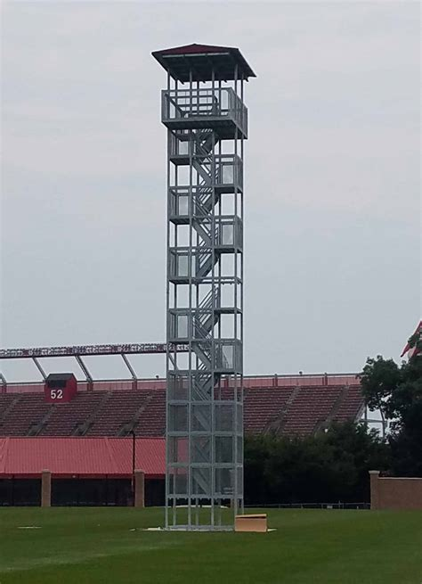 Sports Viewing & Video Towers Gallery | Porta-King