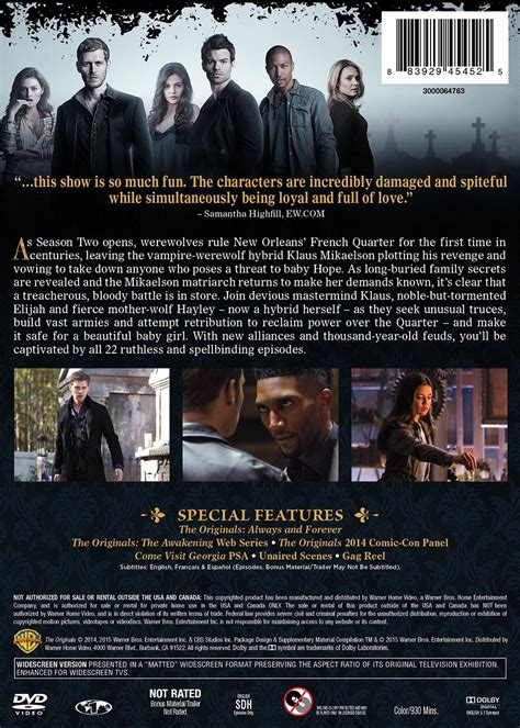 The Originals: The Complete Second Season (DVD)   The