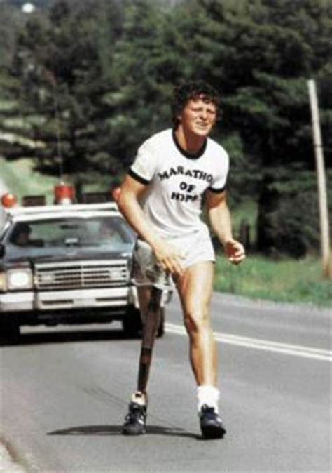 Terry Fox Captures a Nation's Attention With Courage and