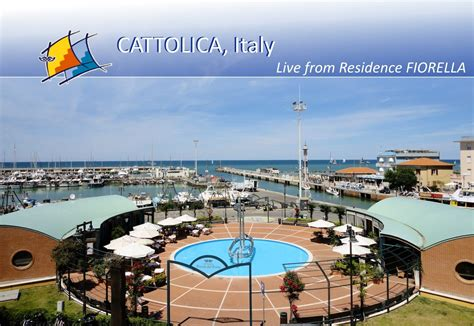 Cattolica (Italy) - Live Webcam from Residence FIORELLA