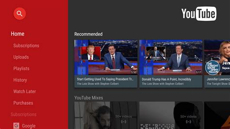 Download YouTube for Android TV 2