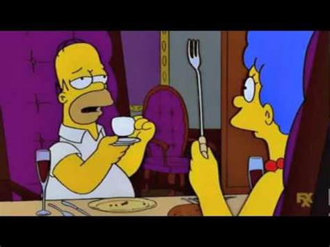 The Simpsons - Why Marge I do believe you're supposed to