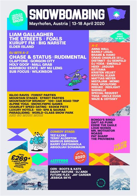Snowbombing 2020: Liam Gallagher, The Streets And Foals To