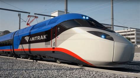 Amtrak's New 186 MPH Bullet Trains Will Be Here in 2021