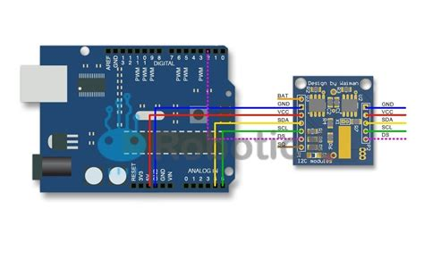 Real Time Clock Module - DS1307 - RoboticX