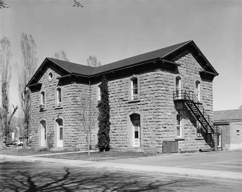 Carson City: Old Nevada State Printing Office