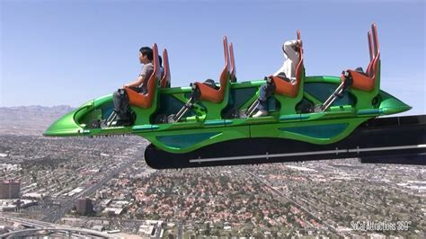 [HD] FULL Stratosphere Tower Tour - 4 Rides - Highest