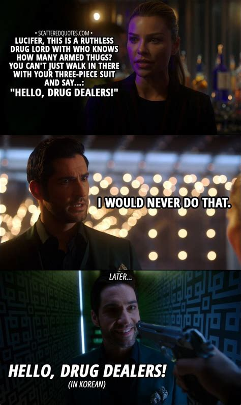 100+ Best 'Lucifer' Quotes (TV Show | Morning star, Tom