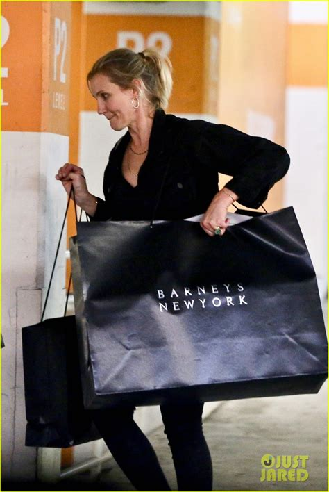 Cameron Diaz Gets Some Shopping Done at Barneys New York