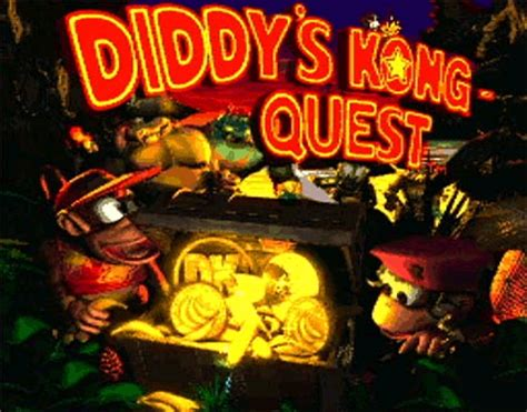 Game: Donkey Kong Country 2: Diddy's Kong Quest [SNES