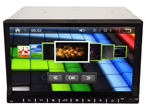 2Din DVD Player Radio Head unit with GPS Navi System and
