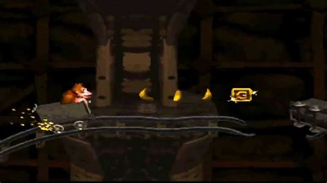 Donkey Kong Country Mine Cart Carnage Playthrough - YouTube