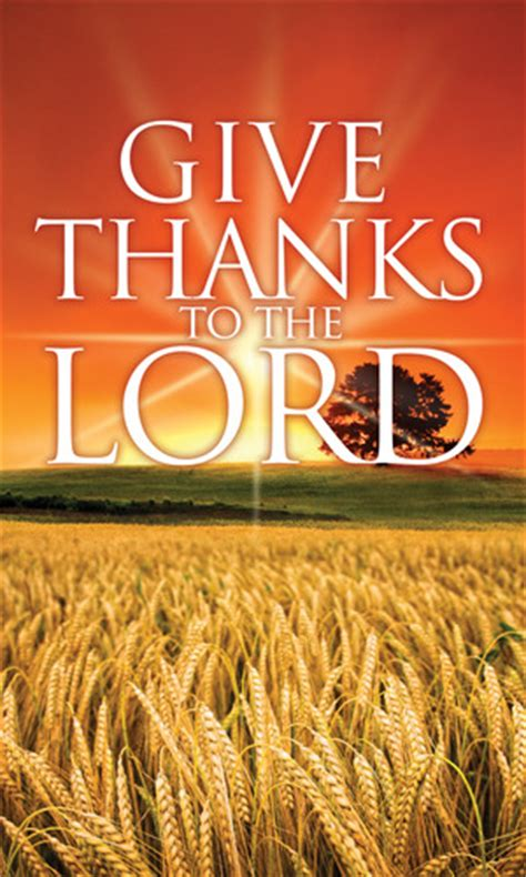 Give Thanks Lord Banner - Church Banners - Outreach Marketing