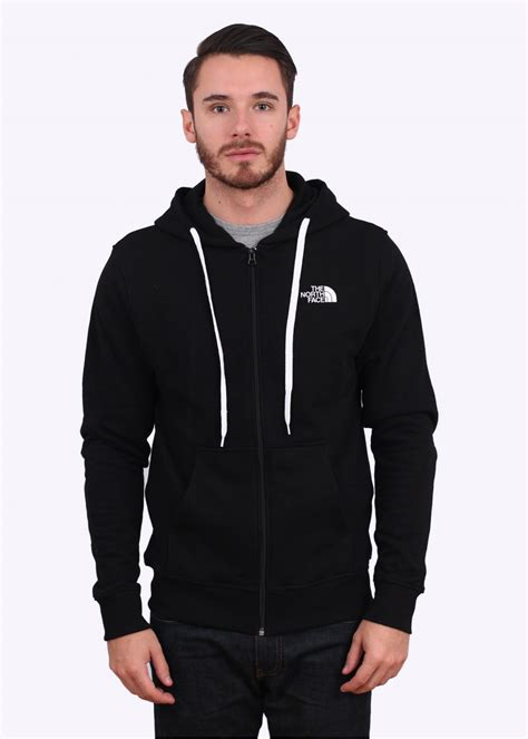 The North Face Open Gate Hoodie - Black / White