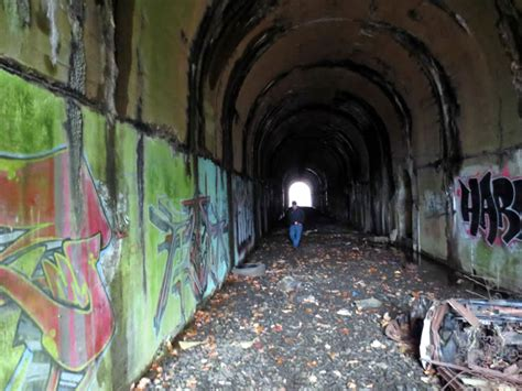 Abandoned Railroad Tunnels in Newtown, CT