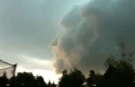 Video: Ghostly cloud faces appear over New Brunswick   The