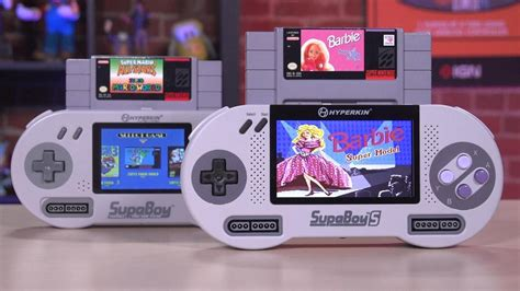 Unboxing the SupaBoy S: The Portable Super Nintendo - YouTube