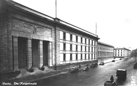Site of the New Reich Chancellery- 1937-1945 - Berlin