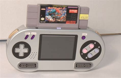 Hyperkin's SupaBoy Handheld Console Brings The Retro With