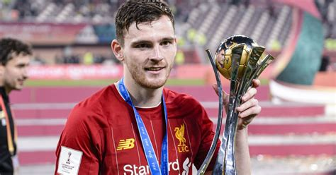 Andy Robertson Hopeful Club World Cup Triumph Can Inspire