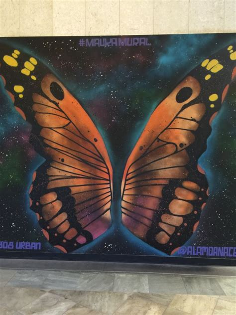 Image result for monarch butterfly wings mural | Angel