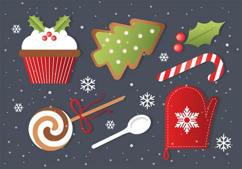 Christmas Vector Elements - Free Photoshop Brushes at