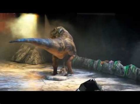 Walking with dinosaurs - live arena tour london o2 - YouTube
