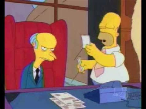 The Simpsons 7x17 Homer the Smithers - YouTube
