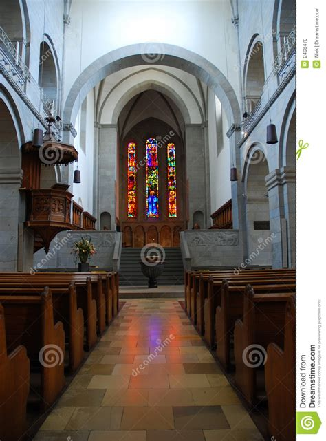Cathedral In Zurich Stock Photo - Image: 2408470