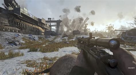 Report: Call of Duty WWII Gets Detailed Maps, Weapons And