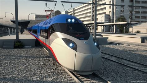 Amtrak's new high-speed trains are faster, fancier and