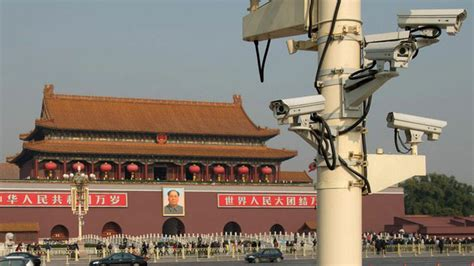 Beijing '100 Percent Covered' by Web of Surveillance Cameras