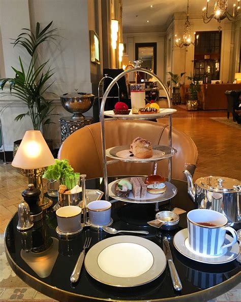 Afternoon Tea at The Bloomsbury Hotel, London - Bethany Looi