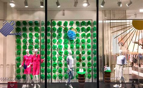 """Marc Cain unveils global """"green"""" store window concept with"""