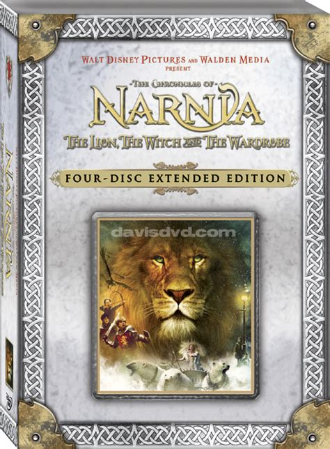 Limited Edition DVD Details   NarniaWeb