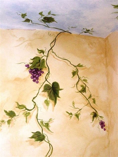 Grapevines: Handpainted Accents & Murals - Haven Artistry