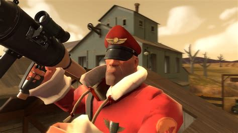 Direct Hit Soldier: TF2 [Commentary] Harvest Gameplay