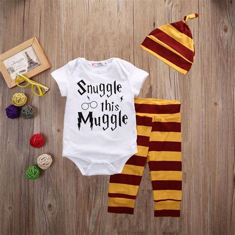 Spotted! £8 'Snuggle this Muggle' Baby Outfit
