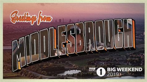 Radio 1's Big Weekend Middlesbrough: Artists confirmed for