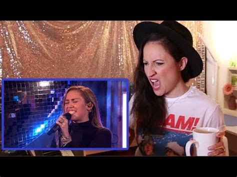 Vocal Coach REACTS to MILEY CYRUS- MARK RONSON- NO TEARS