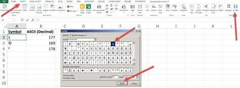 Shortcut to insert a symbol in Excel • AuditExcel